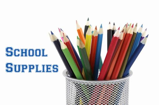 5th & 6th Grade Supply Lists