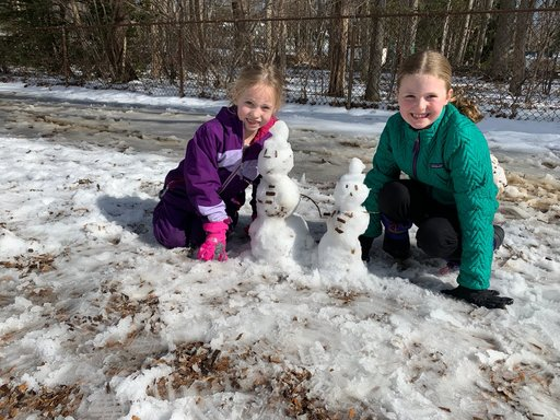 Snow Day Fun at Recess